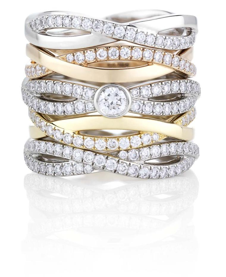 The everlasting beauty of diamonds captured in the new Infinity Bands from De Beers