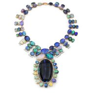 Fine jewellery designer and LA native Irene Neuwirth is one of the largest collectors of opals in the world