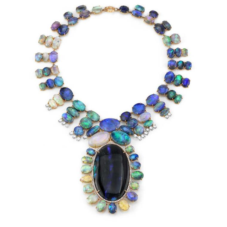 4fb77df38 Read about Mexican Fire Opals. IreneNeuwirth007. One-of-a-kind Irene  Neuwirth necklace ...
