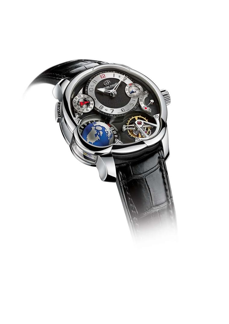 new Greubel Forsey Platinum GMT
