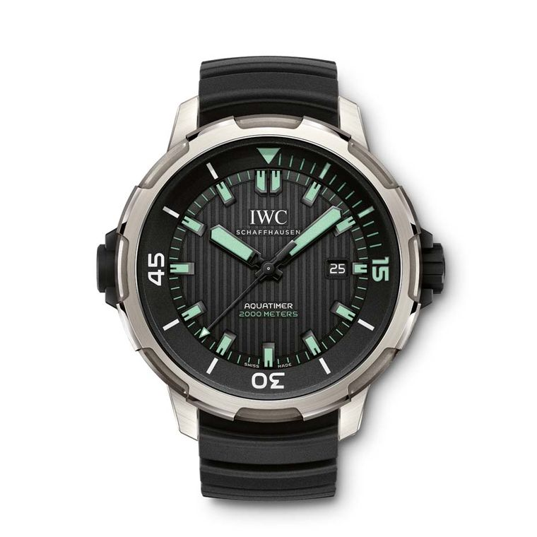 IWC has revamped its entire Aquatimer range for 2014