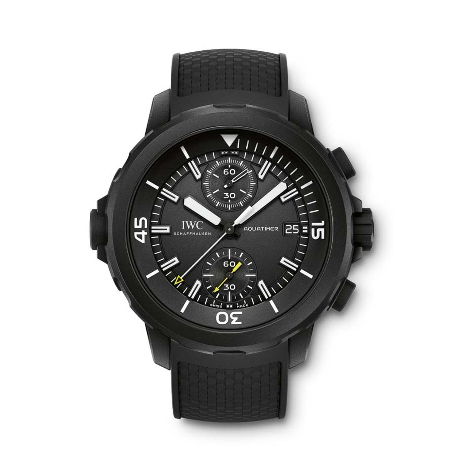 IWC has revamped its entire Aquatimer range for 2014.
