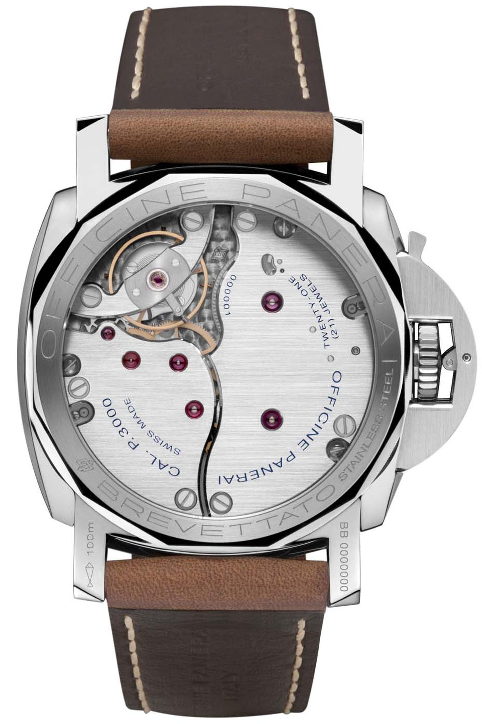 movement of the Panerai Luminor 1950