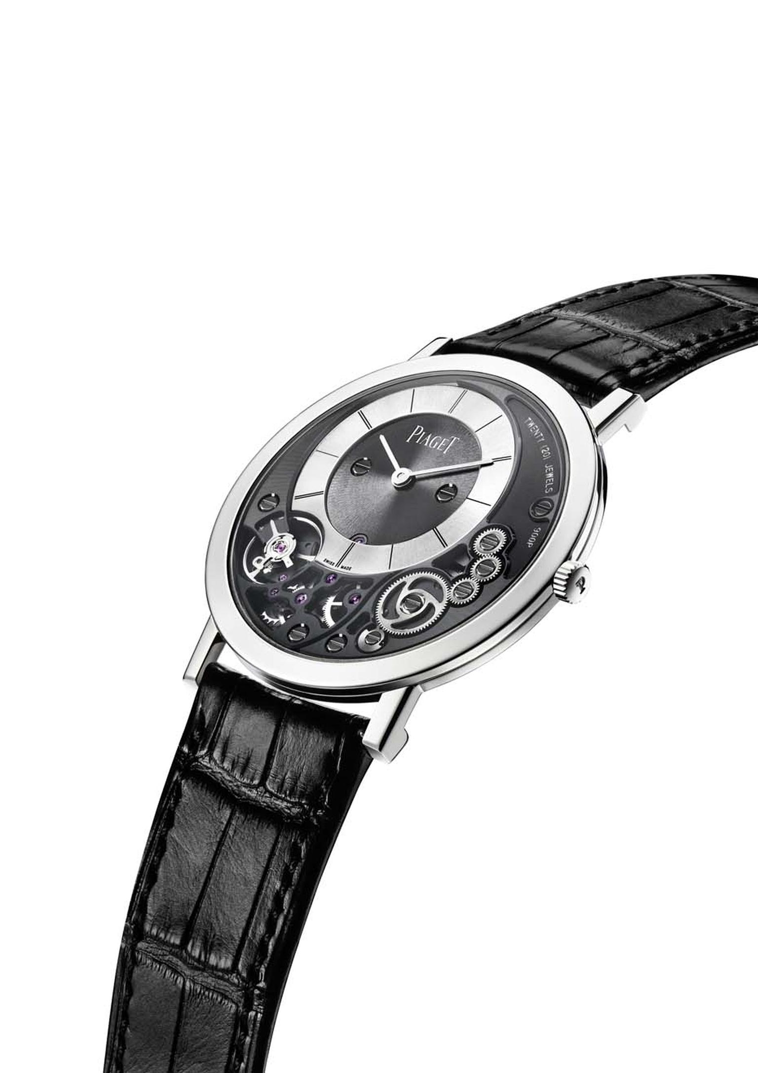 By merging the calibre with the case, Piaget has created the Altiplano 38mm 900P, the world's thinnest watch to date.