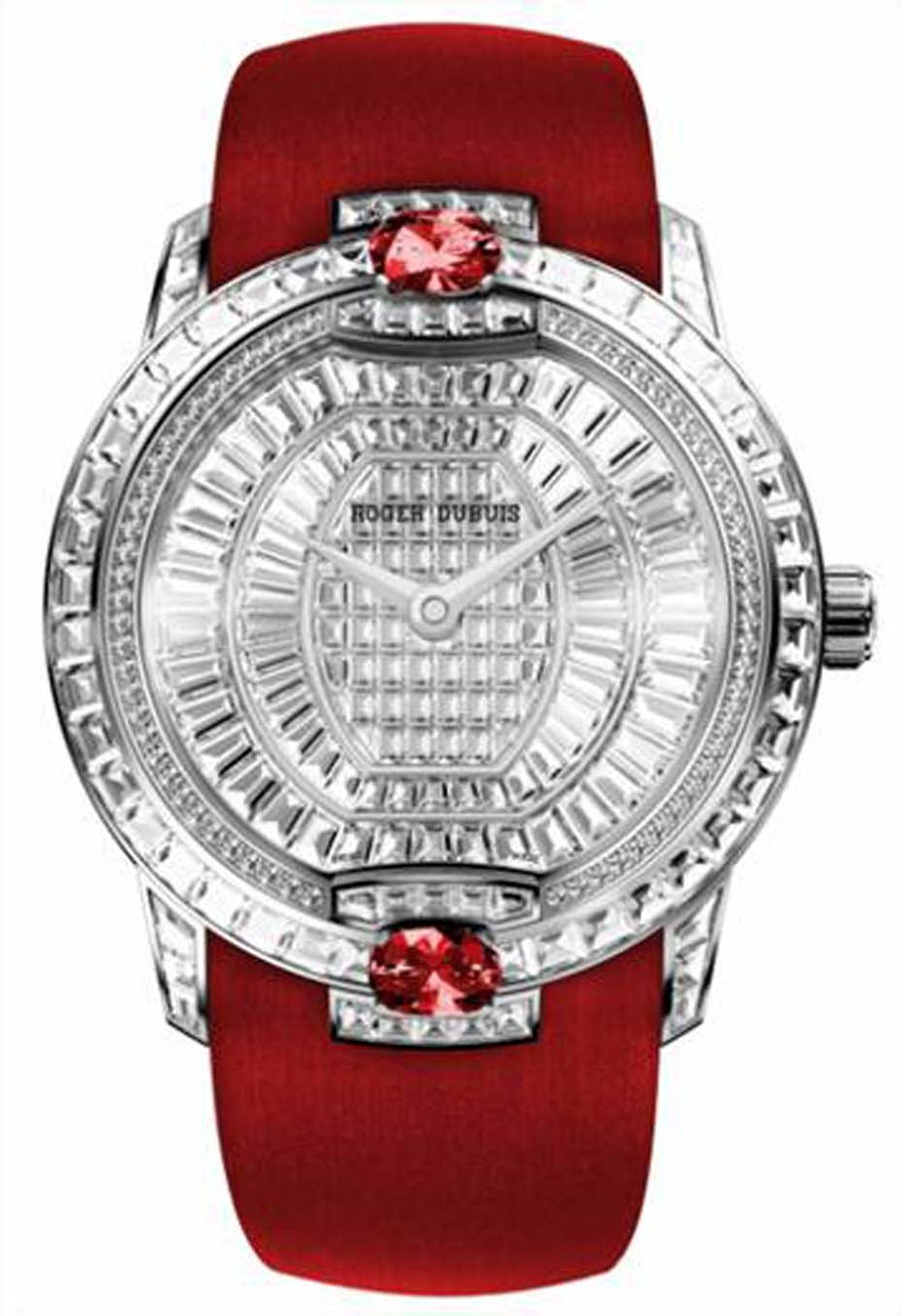 Roger Dubuis' Velvet watch