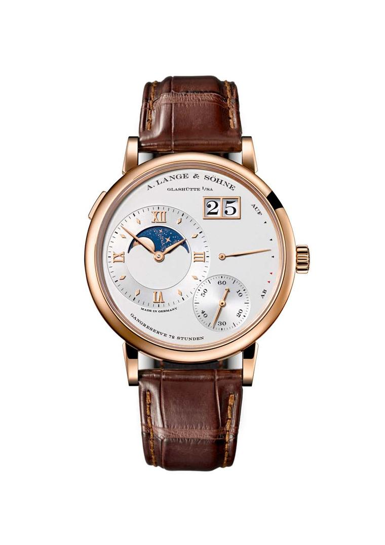 Lange & Sohne's Grande Lange 1 Moon Phase in yellow gold