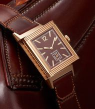 A sumptuous tribute to the iconic Reverso: the new Jaeger-LeCoultre Grande Reverso Ultra Thin 1931 with a chocolate dial