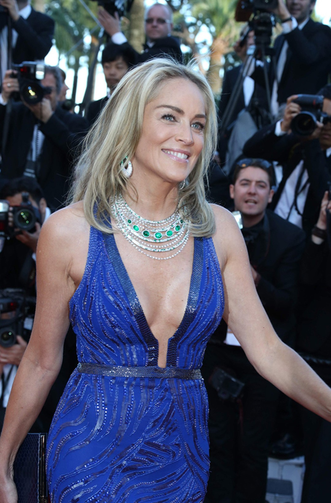 Sharon Stone at the Cannes Film Festival