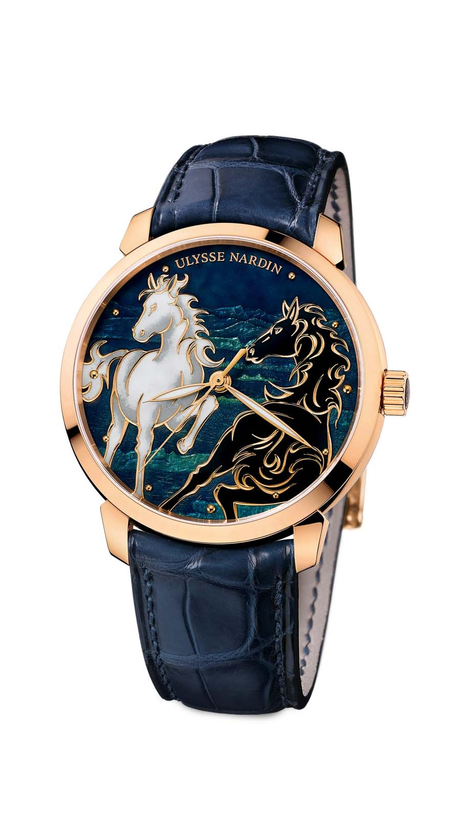 Ulysse Nardin's Classico Horse timepiece