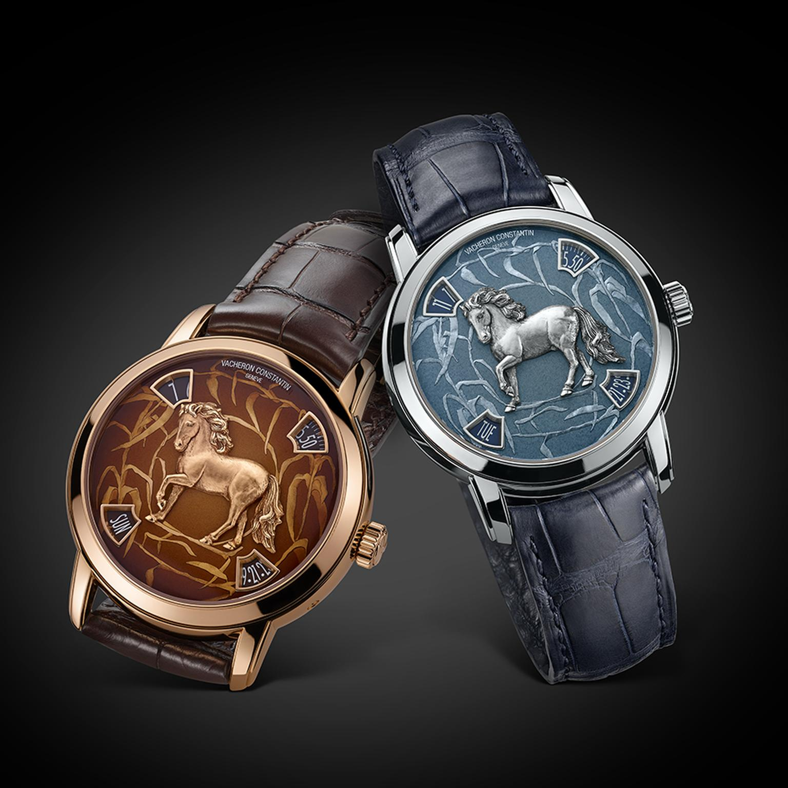 The latest additions to Vacheron Contantin's 'Legend of the Chinese Zodiac'