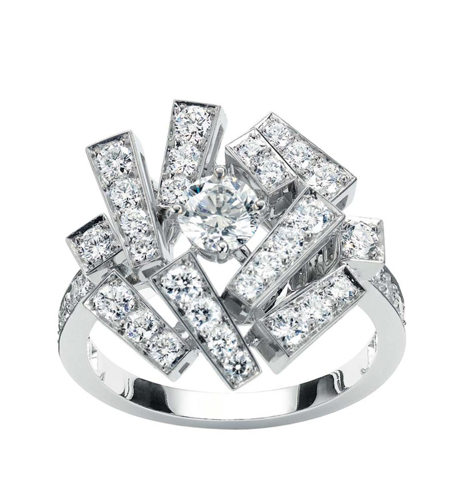 Chaumet Le Grand Frisson diamond ring (£11,720).
