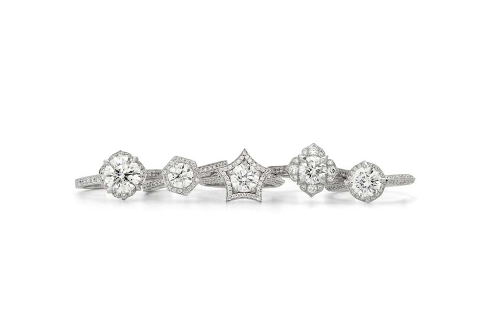 Stephen Webster's second bridal range of rings