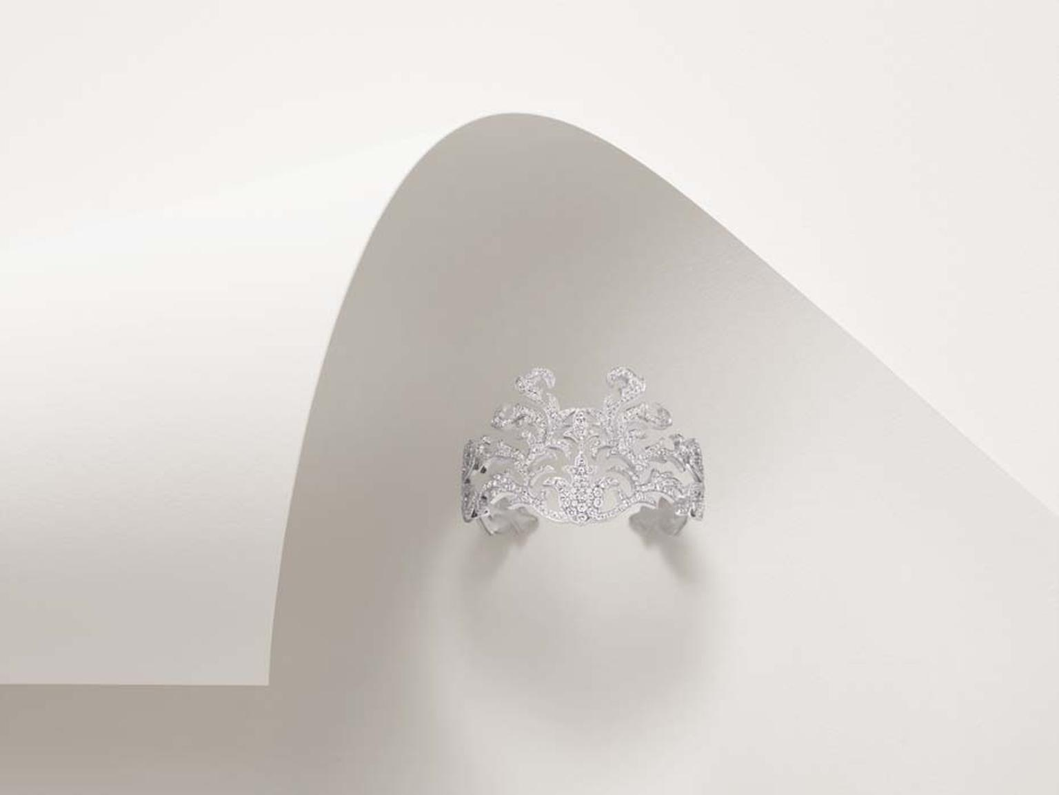 Lily Gabriella diamond-set cuff.