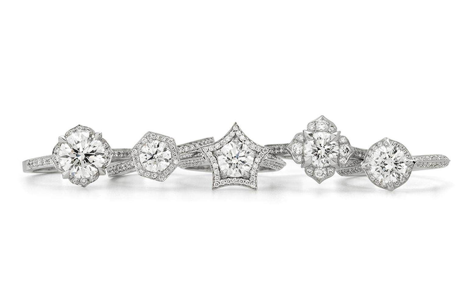 Set with Forevermark diamonds
