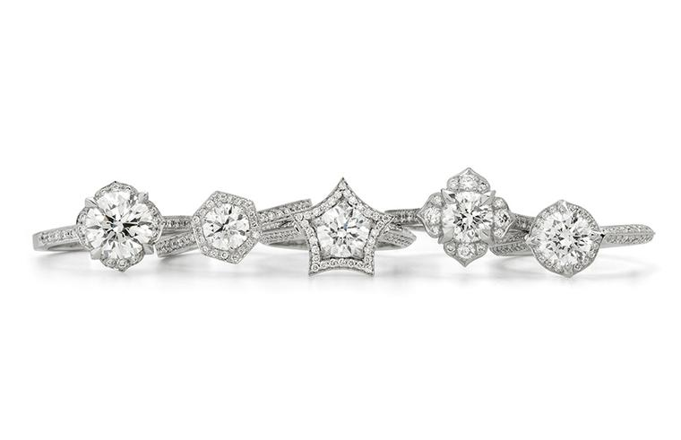 Stephen Webster teams up with Forevermark for second collection of diamond engagement rings