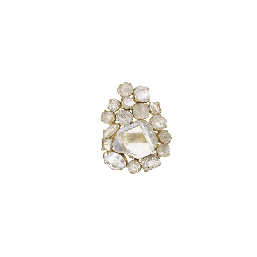 Invisible Set collection diamond ring by Pippa Small