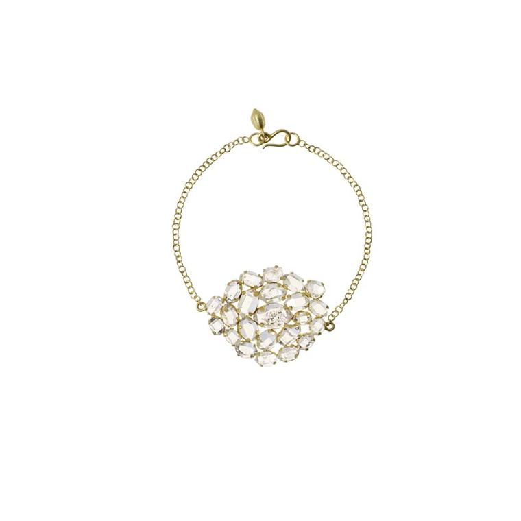 Pippa Small Invisible Set diamond bracelet