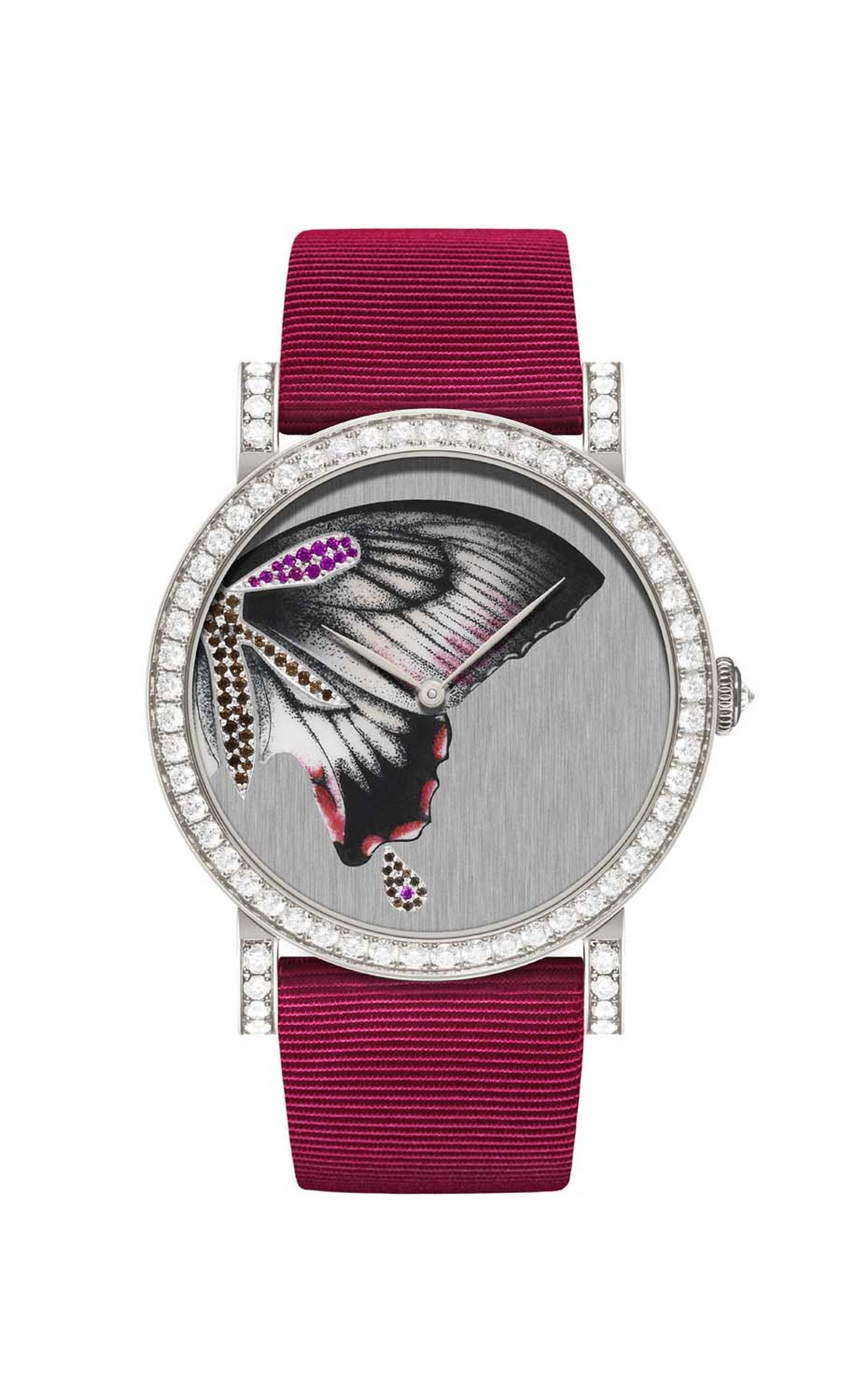 One-of-a-kind DeLaneau Rondo Butterfly Wing automatic watch