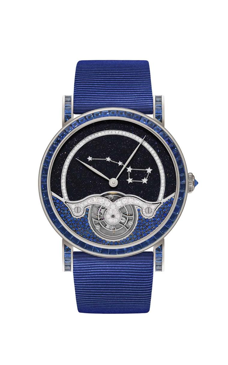 DeLaneau Rondo Tourbillon Ursa Major Constellation timepiece