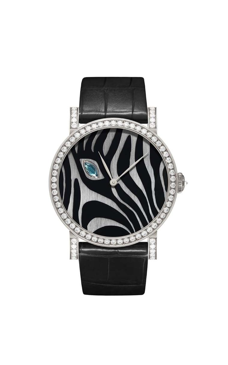 DeLaneau Rondo Zebra's Eye automatic watch