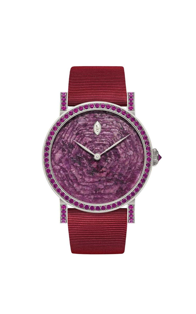 DeLaneau's Rondo Ruby Heart automatic watch