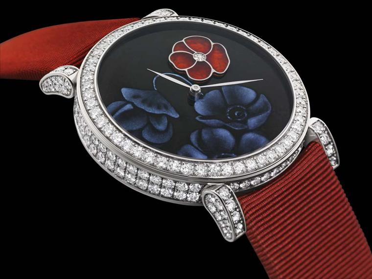 DeLaneau Poppy Plique à Jour watch