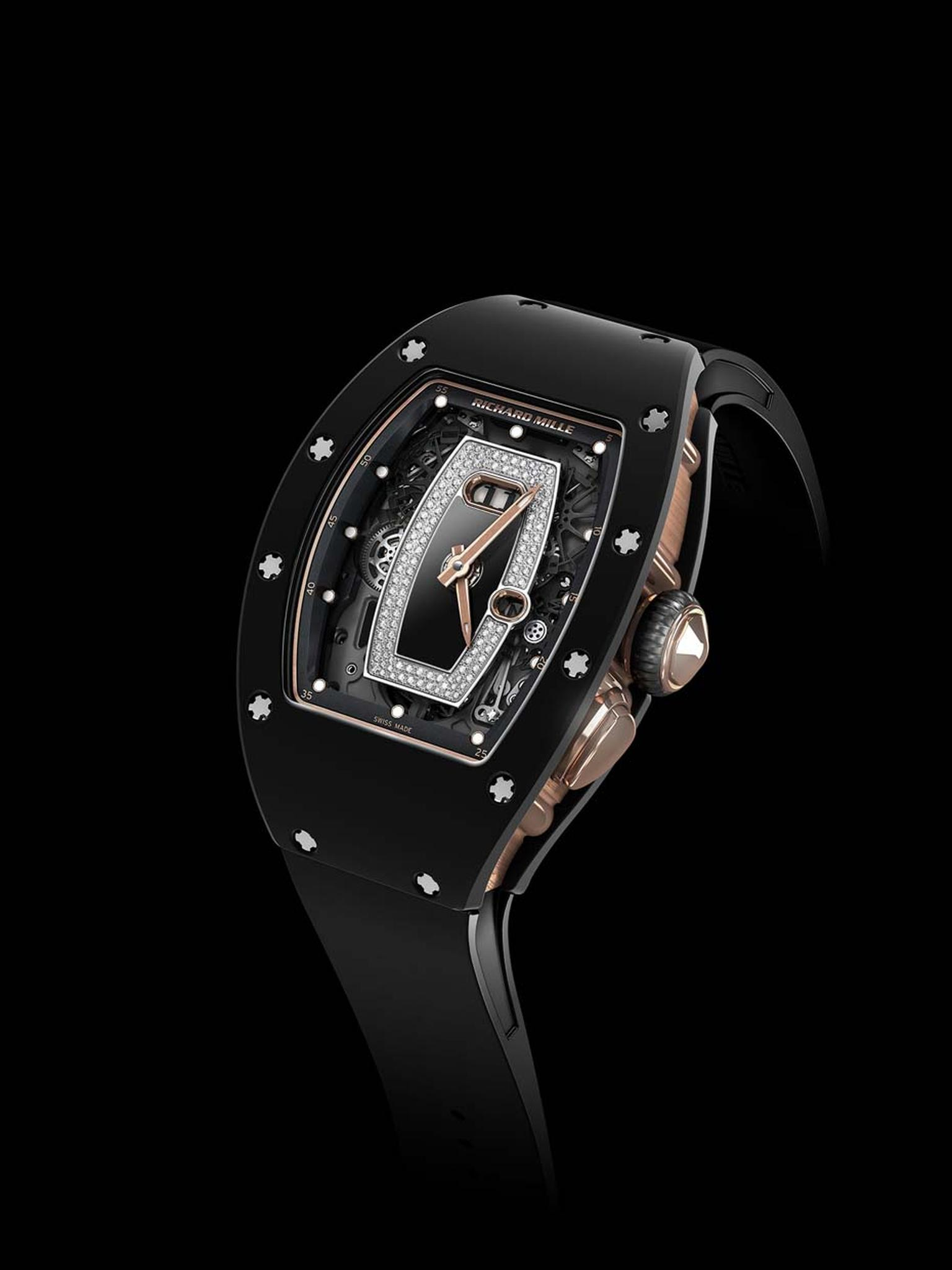 Richard Mille RM 037 in TZP black ceramic