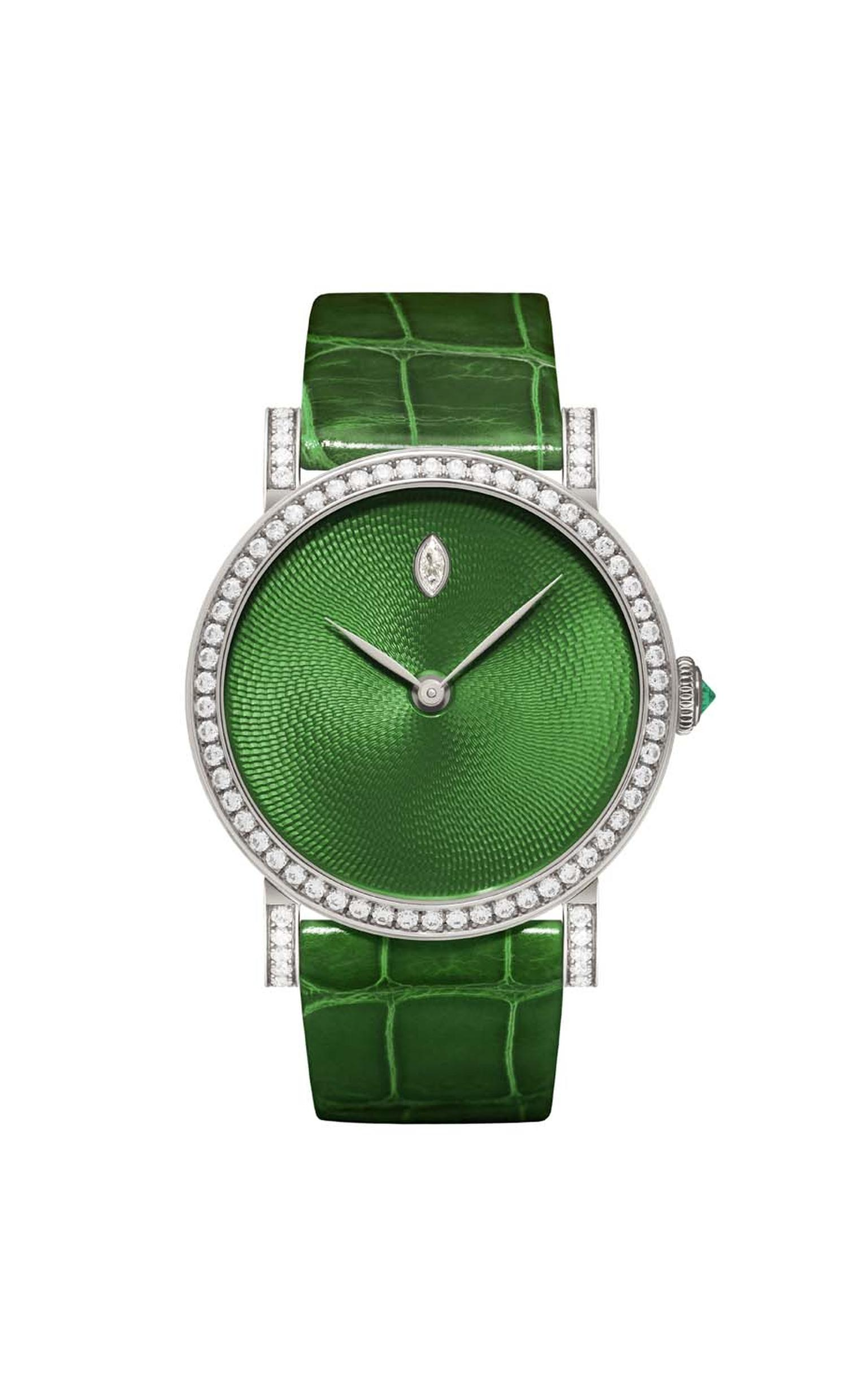 DeLaneau's one-of-a-kind Rondo Translucent Green watch