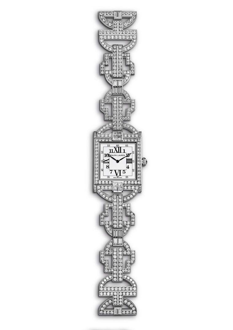 Ralph Lauren 867 Diamond Timepiece