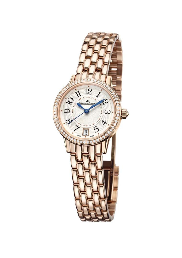 Jaeger-LeCoultre Rendez-Vous Date in pink gold and diamonds