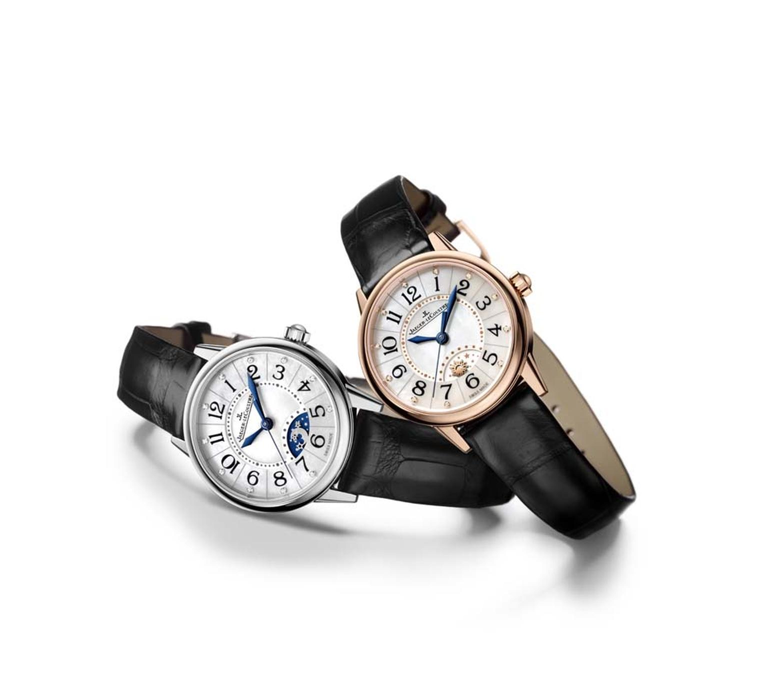 Jaeger-LeCoultre Rendez-Vous Night and Day in pink gold and steel