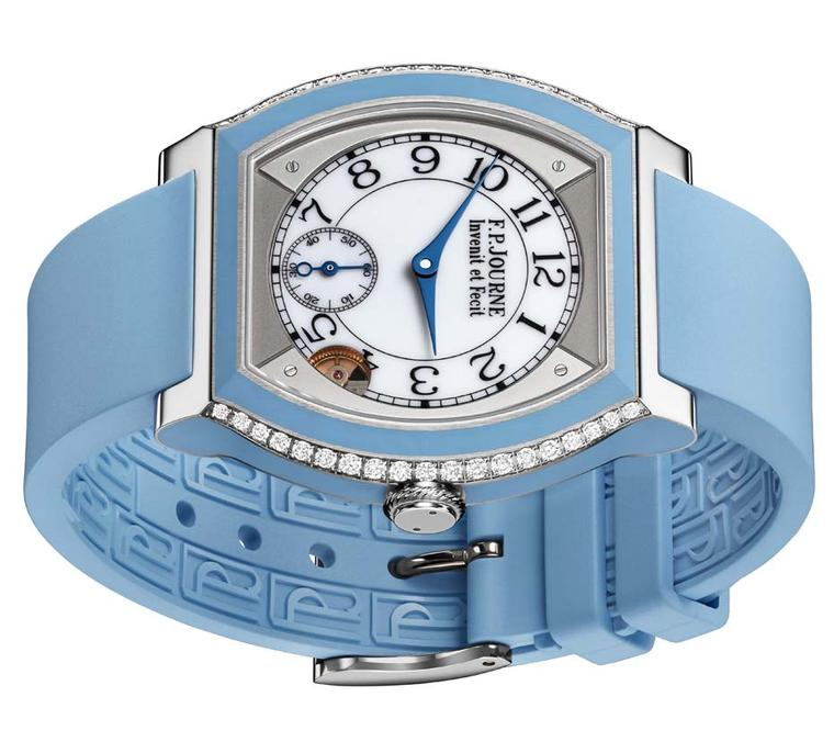F.P. Journe Élégante watch in blue