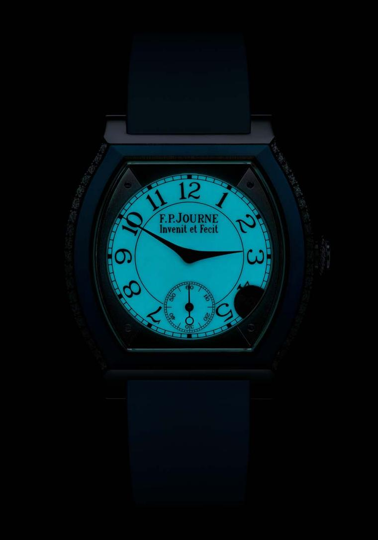 F.P. Journe Élégante luminescent dial