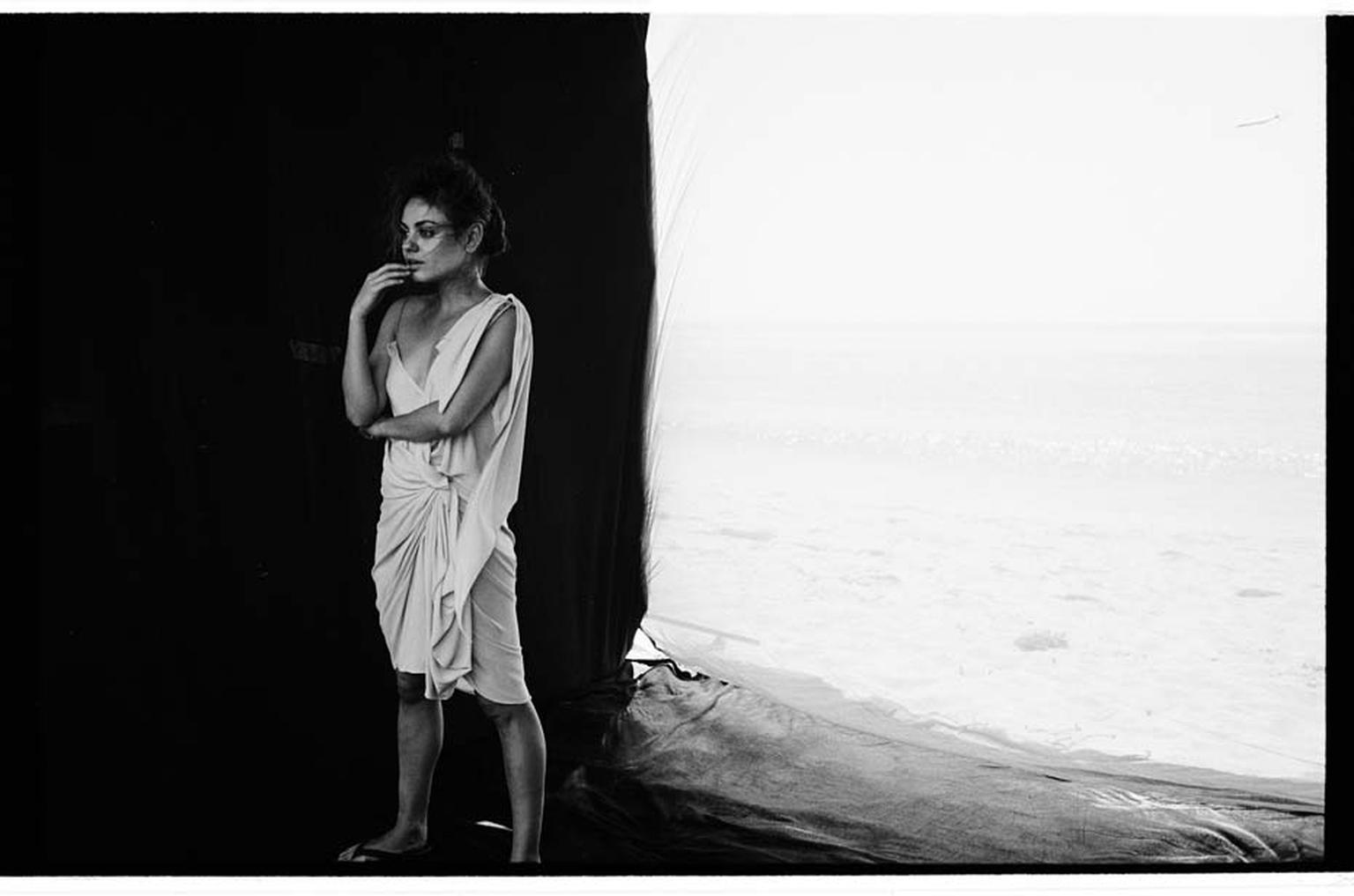 Behind the scenes on Gemfields' newest campaign with Mila Kunis