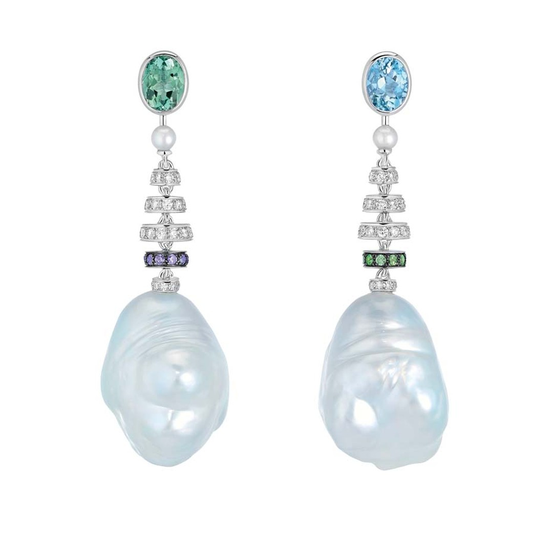 Chanel Perles Baroques earrings, from the new Les Perles de Chanel collection