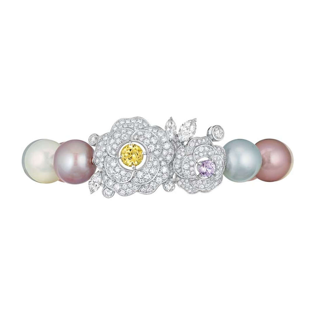 Chanel Printemps de Camélia bracelet, from the new Les Perles de Chanel collection