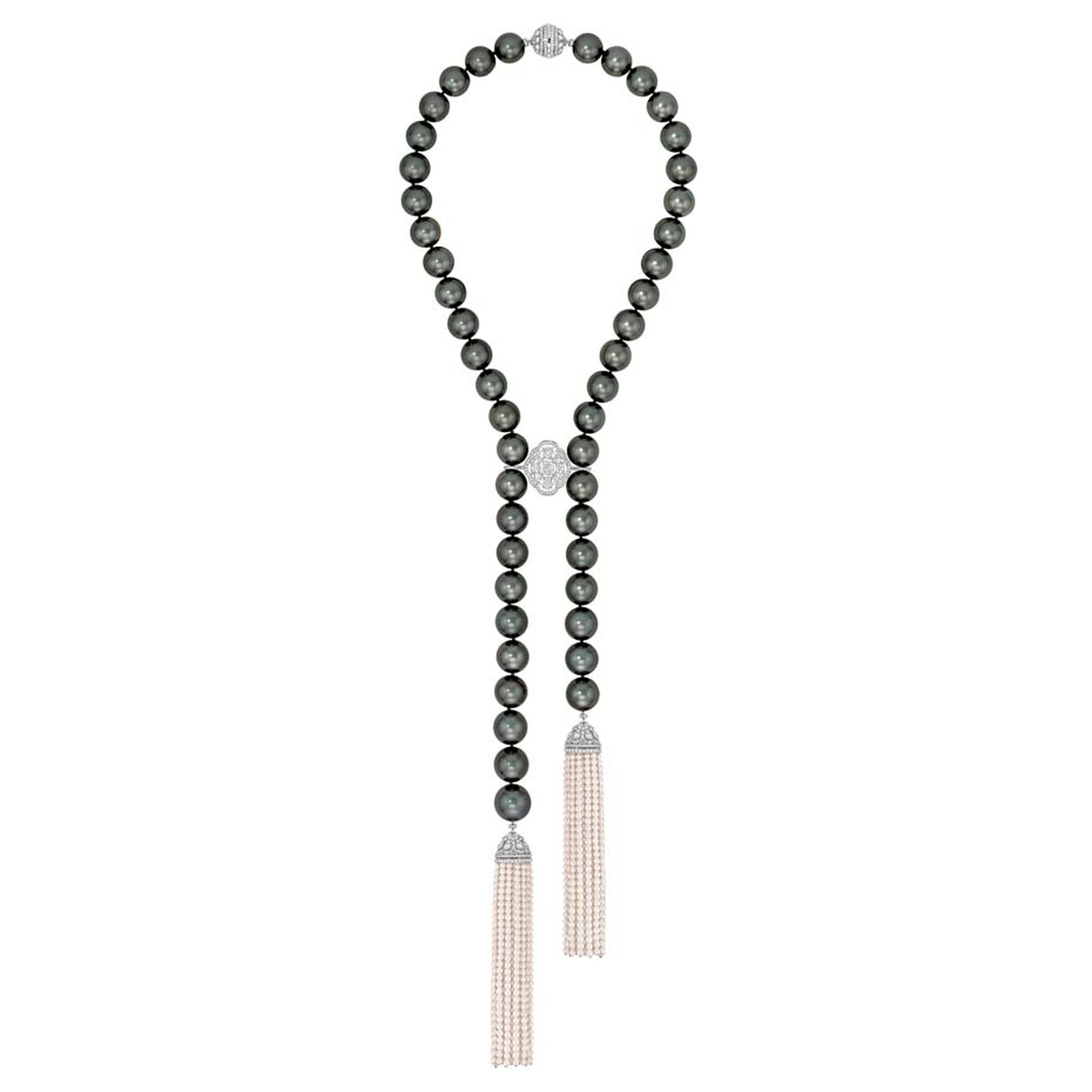 Chanel Perles de Nuit necklace, from the new Les Perles de Chanel collection