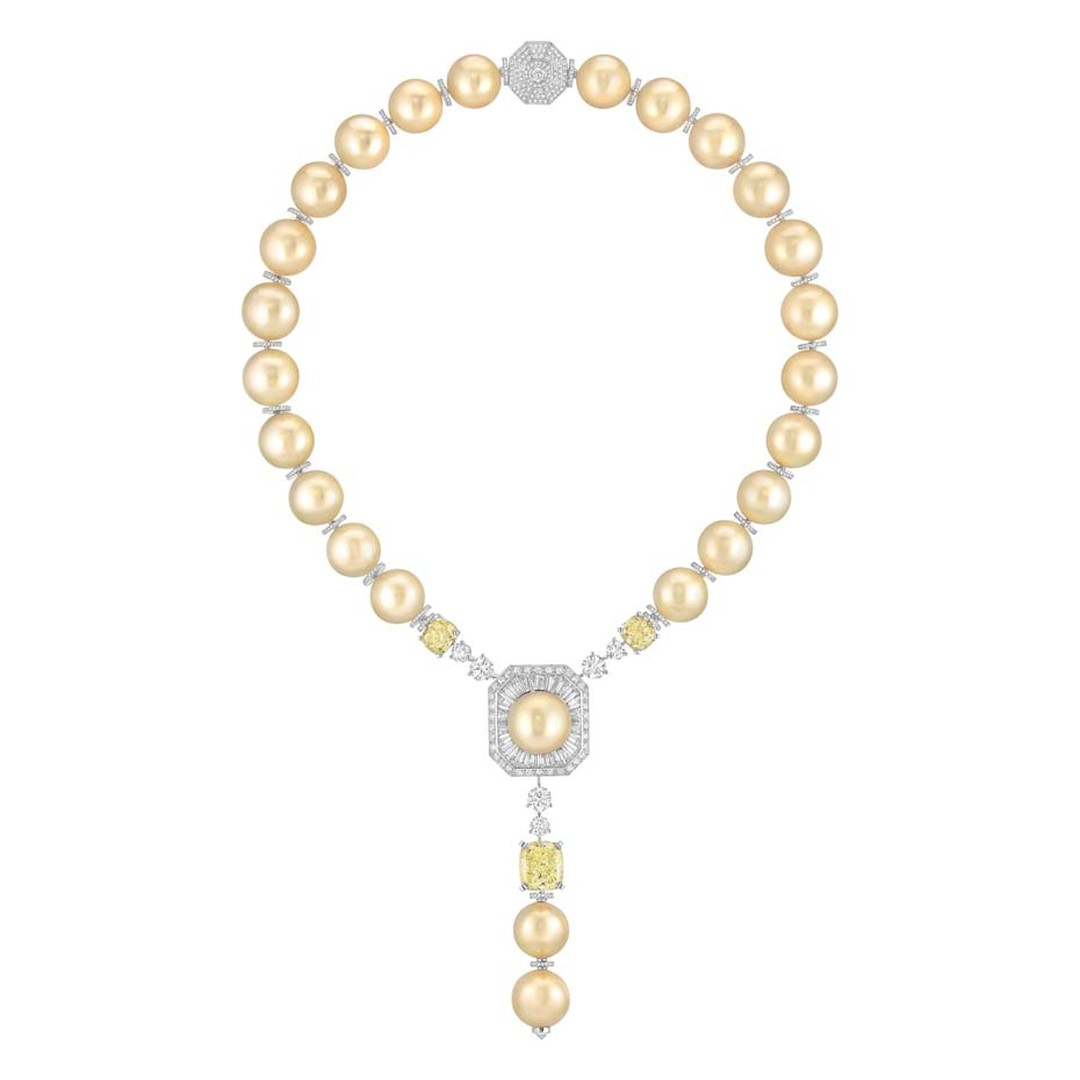 Chanel Perles Royales necklace, from the new Les Perles de Chanel collection