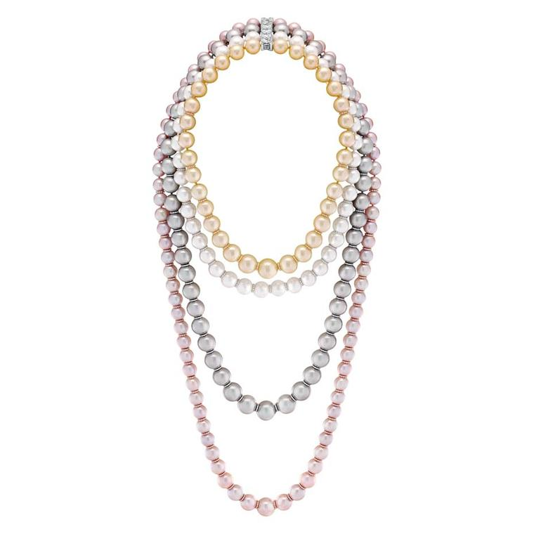 Chanel Perles Swing necklace, from the new Les Perles de Chanel collection