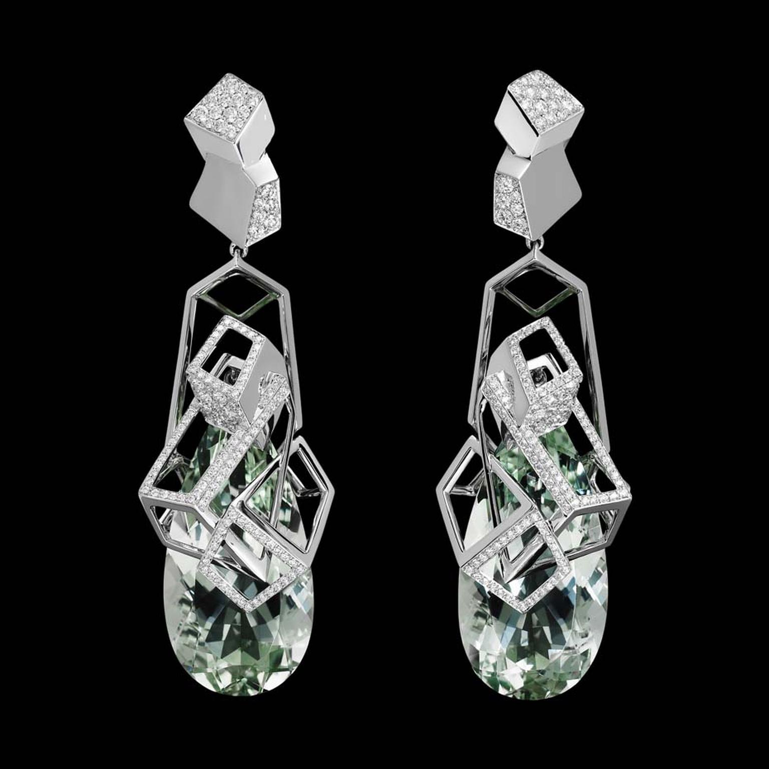 Lorenz Baumer Cubistes earrings