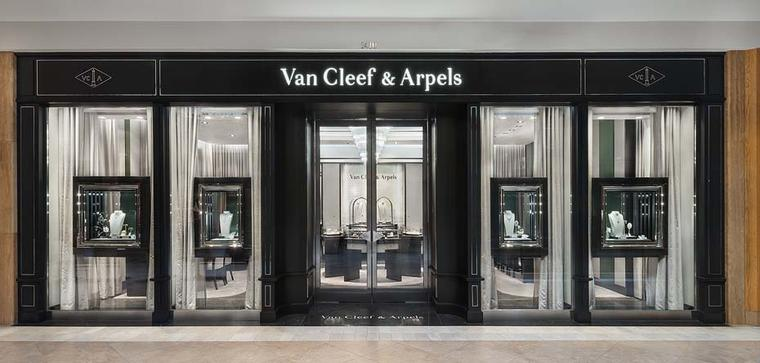 The reopening of Van Cleef & Arpels South Coast Plaza boutique