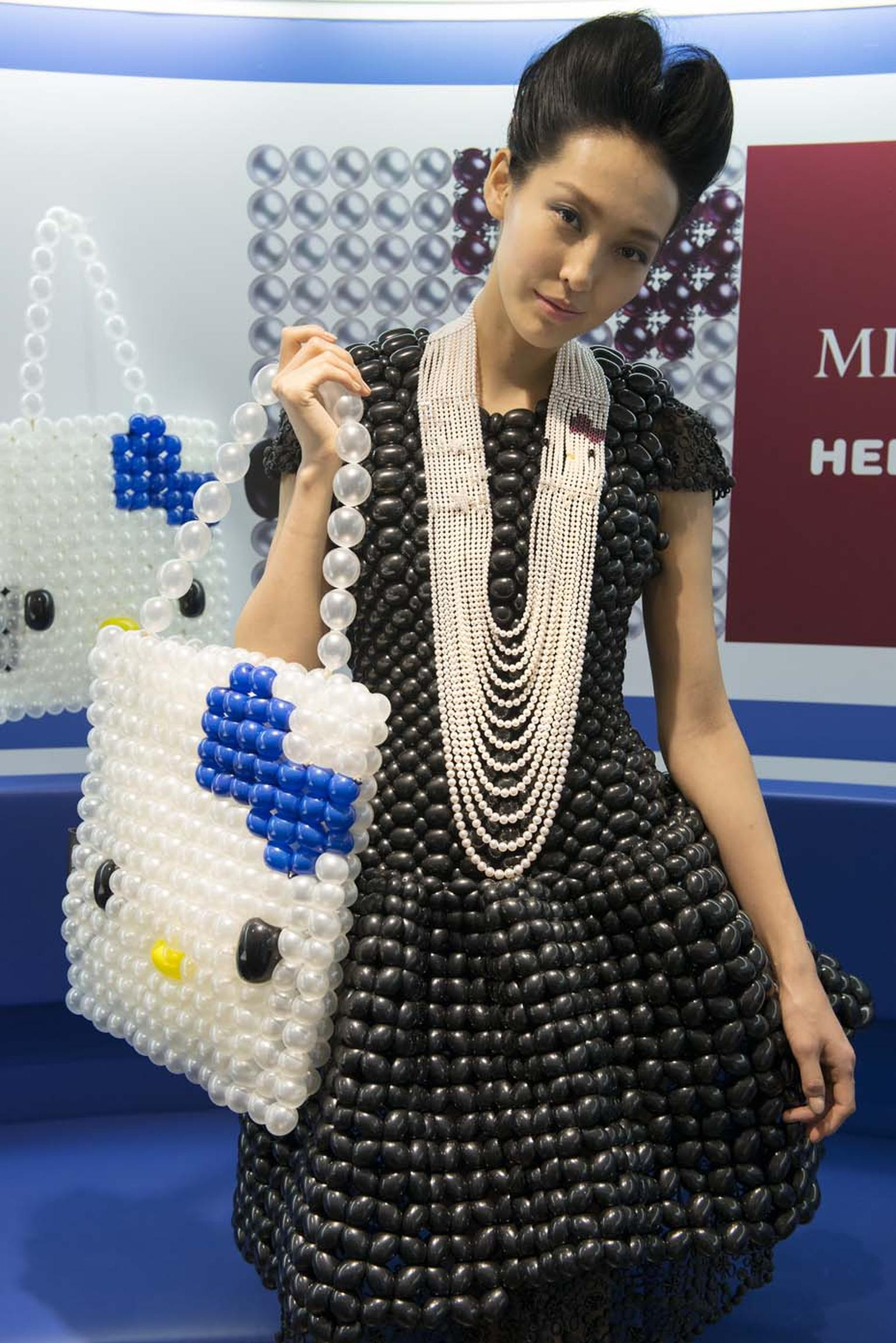 Mikimoto and Hello Kitty take centre stage at the launch of the Mikimoto x Hello Kitty collection at Colette in Paris
