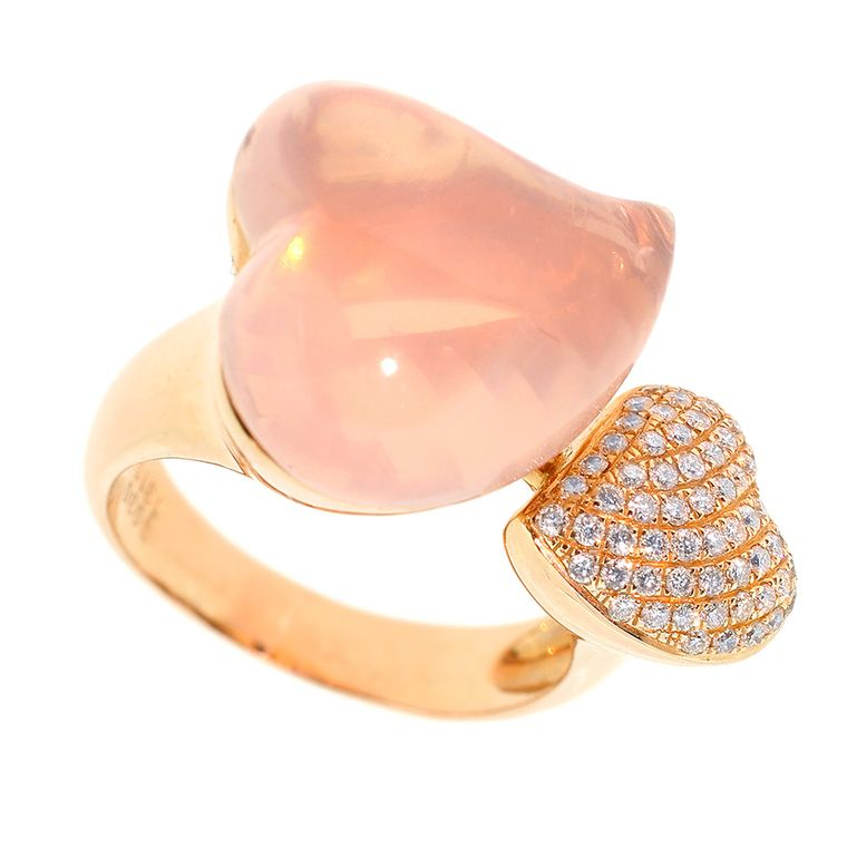 Timothy Roe Fine Jewellery pink heart ring