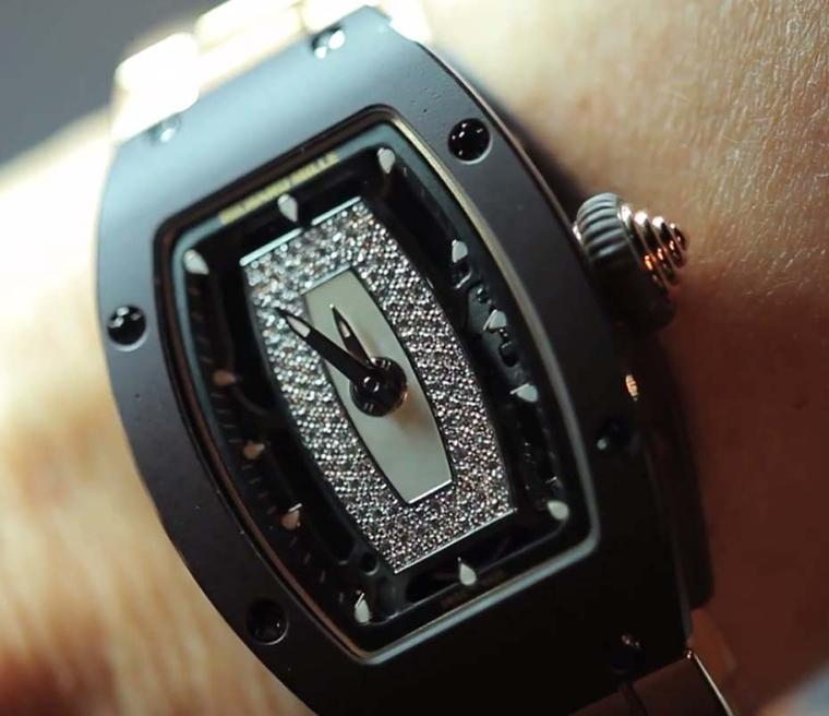 Richard Mille presented six new women's watches at the SIHH 2014