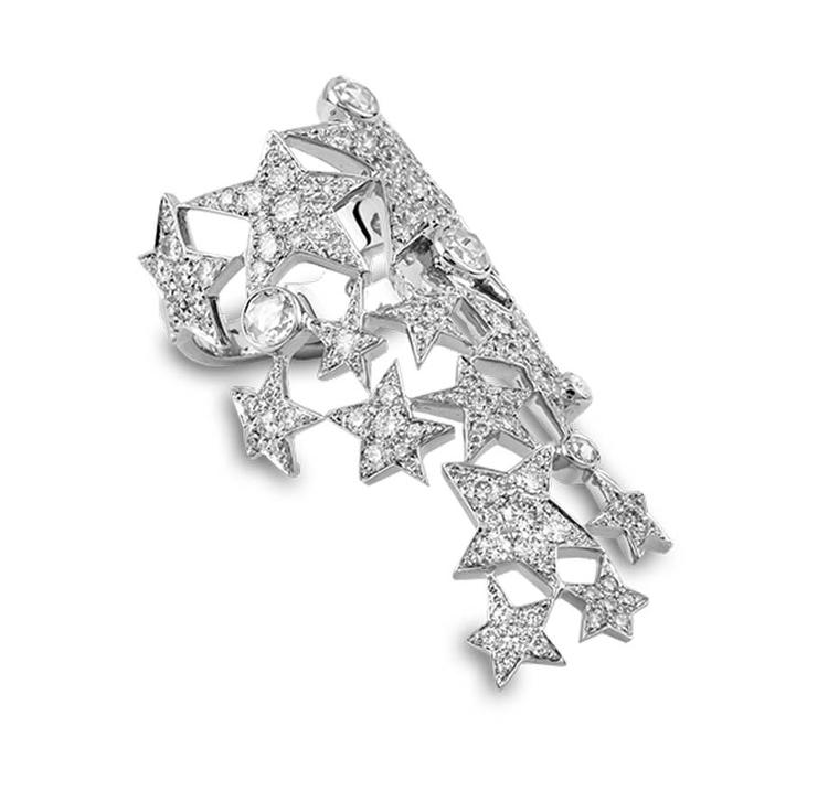 Morphée Make a Wish white gold ring with diamonds