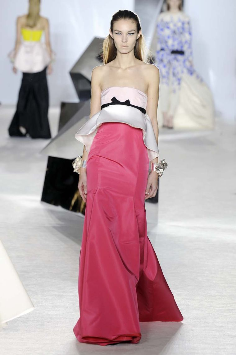 Fresh off the catwalk collaborations between fashion and for Designer haute couture dresses