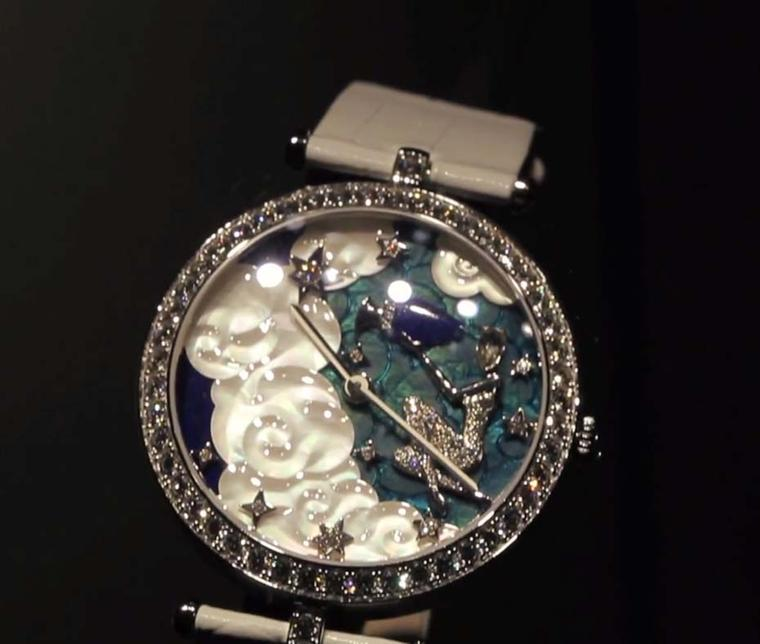 Van Cleef & Arpels Lady Arpels Zodiac Aquarius watch