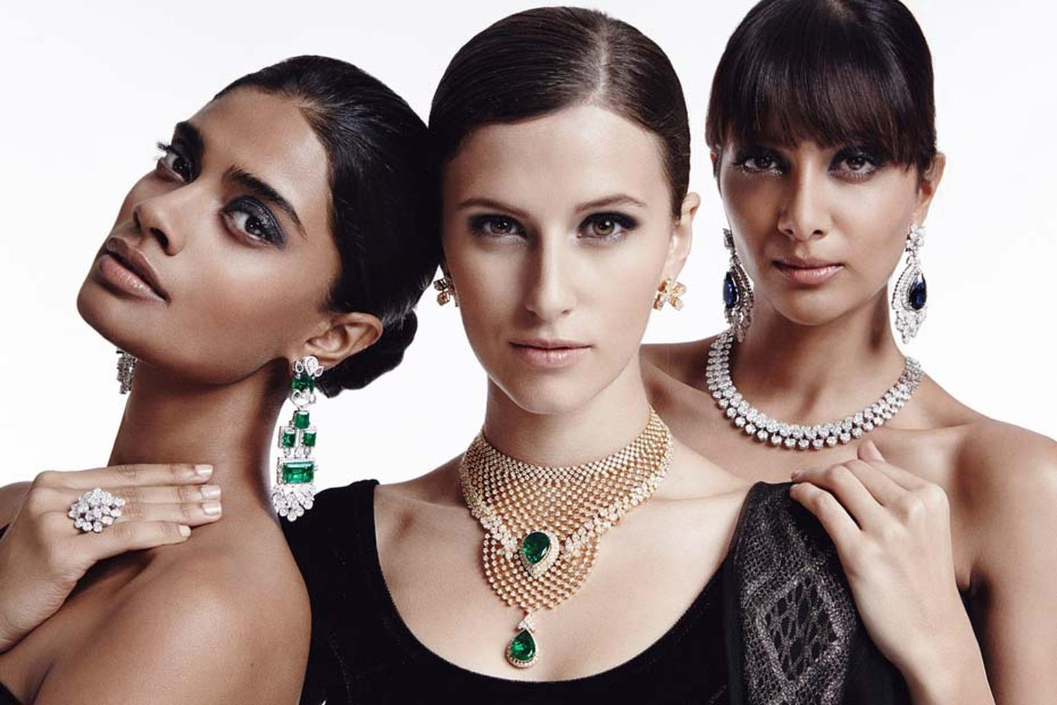 A selection of Varuna D Jani fine jewellery
