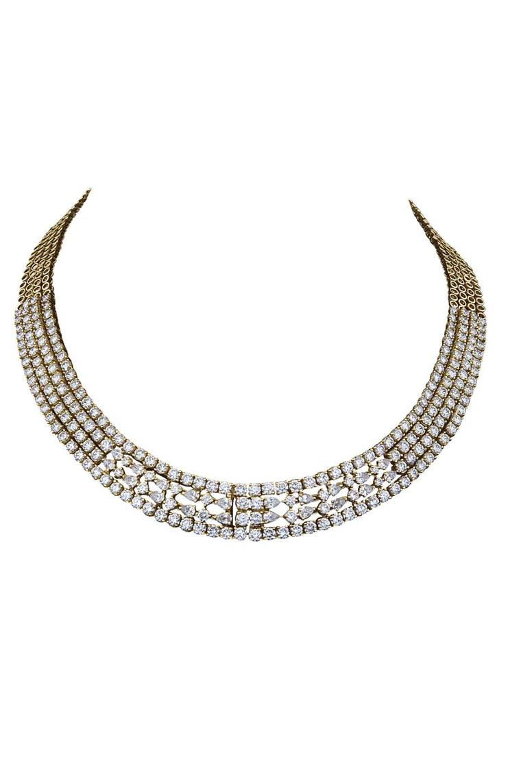 Varuna D Jani Vow collection diamond necklace