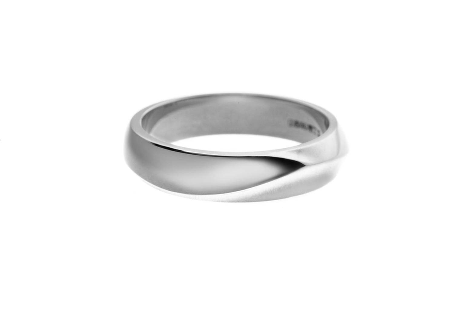 Shaun Leane white gold Vine wedding ring (£1,500).